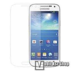 SAMSUNG Galaxy S4 mini LTE (GT-I9195)Képernyővédő fólia - Clear - 1db, törlőkendővel - Utángyártott - SAMSUNG GT-I9190 Galaxy S4 mini
