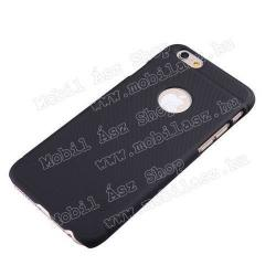 NILLKIN SUPER FROSTED műanyag védő tok / hátlap - érdes felület - FEKETE - APPLE iPhone 6