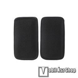 APPLE iPhone 12 miniTok álló - POUCH - belebújtatós - 142 x 80 mm - FEKETE - SAMSUNG SM-G900F Galaxy S5