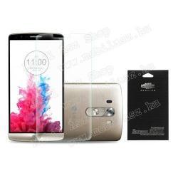 LG G3 Dual-LTEKépernyővédő fólia - ULTRA CLEAR - 1db, törlőkendővel - LG D850 G3