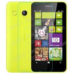 NOKIA Lumia 630 DUAL SIMElőlap védő karcálló edzett üveg - 9H, 03 mm vastag, Arc Edge, A képernyő sík részét védi - NOKIA Lumia 630  NOKIA Lumia 635