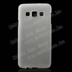 SAMSUNG Galaxy A3 DUOS (SM-A300F/DS)Szilikon védő tok  hátlap - FLEXI - FEHÉR - SAMSUNG SM-A300F Galaxy A3