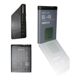 NOKIA 7070NOKIA akku 700 mAh LI-ION - BL-4B - GYÁRI - Csomagolás nélküli(BL-4BA utódja)