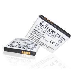 Akku 700 mAh LI-ION (LGIP-470A/SBPL0094902 kompatibilis) - LG GD330/LG KE970 Shine/LG KF600/LG KF750 Secret/LG KU970 Shine