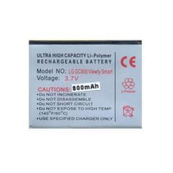 Akku 800 mAh LI-Polymer (LGIP-580N/SBPL0098001 kompatibilis) - LG GC900 Viewty Smart/LG GT400/LG GT500/LG GT505