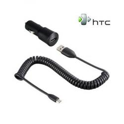 HTC szivargyújtó töltő/autós töltő - CC C200 - GYÁRI - Csomagolás nélküli
