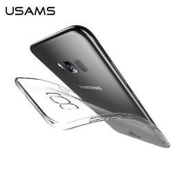 USAMS Primary Color Series szilikon védő tok / hátlap - ÁTLÁTSZÓ - SAMSUNG SM-G950 Galaxy S8 - GYÁRI