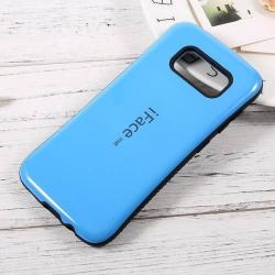 iFace műanyag védő tok / hátlap - VILÁGOSKÉK - szilikon betétes, ERŐS VÉDELEM! - SAMSUNG SM-G950 Galaxy S8