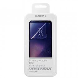 SAMSUNG ET-FG955CTEG TPU képernyővédő fólia - TELJES KIJELZÕRE!, 2 db - SAMSUNG SM-G955 Galaxy S8 Plus - GYÁRI