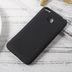 Szilikon védõ tok / hátlap - FLEXI - FEKETE - Xiaomi Redmi 4X