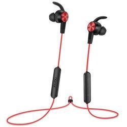 HUAWEI Honor AM61 sztereo sport buetooth headset - PIROS - v4.1, felvevő és hangerő szabályzó gombok - GYÁRI