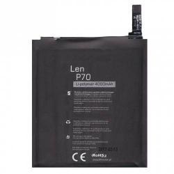 Lenovo A5000 / Lenovo vibe P1m akkumulátor - 4000mAh Li-ION - (BL234 utángyártott)