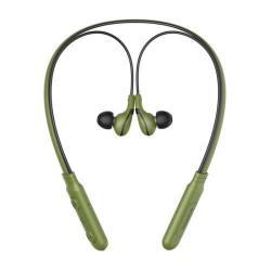 BASEUS Encok E16 SZTEREO bluetooth headset nyakpánttal - ZÖLD - V4.1, felvevõ gomb, hangerõ szabályzó