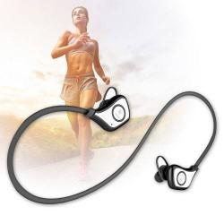 BASEUS S5 sport sztereo bluetooth headset - FEKETE - V4.1, felvevõ gomb, hangerõ szabályzó