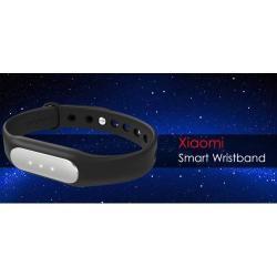 Xiaomi Mi Band 1a okoskarpánt - IP67 vízálló, 5g súly, lépésszámláló, alvásfigyelő, ébresztő funkció, Bluetooth V4.1 - FEKETE - GYÁRI