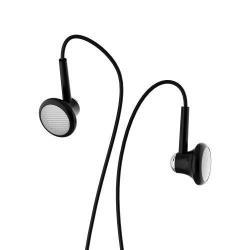 JOYROOM JR-EL123 univerzális sztereo headset - 3,5mm jack csatlakozó, funkciógombokkal - FEKETE