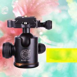 UNIVERZÁLIS állványfej, 360 fokban forgatható, 3 dimenziós, DSLR kamerák állványon való rögzítéséhez, gyors cseretalp