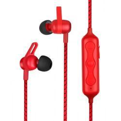 MOMAX WAVE Sztereo Sport Bluetooth Headset - V4.1, felvevő gombbal - PIROS