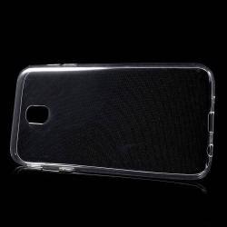 Szilikon védõ tok / hátlap - ULTRAVÉKONY! 0,6mm - ÁTLÁTSZÓ - SAMSUNG SM-J730F Galaxy J7 (2017)
