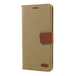 ROAR KOREA notesz / mappa tok - KHAKI - oldalra nyíló, rejtett mágneses záródás, belső zseb, asztali tartó funkció, szilikon belső - SAMSUNG SM-N950F Galaxy Note8 - GYÁRI