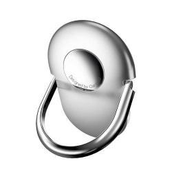 OATSBASF fém ujjtámasz, gyűrű tartó - Biztos fogás készülékéhez - Ezüst
