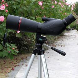 EYESKEY EK8360 Kültéri megfigyelõ spektív - 20-60X nagyítás, BAK-4 prizma, 60mm lencse átmérõ - FEKETE