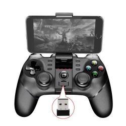 IPEGA Kontroller - 2,4G, Bluetooth 4.1 csatlakozás, kompatibilis okostelefonokkal, PS3-al, PC-vel (USB porton) - FEKETE