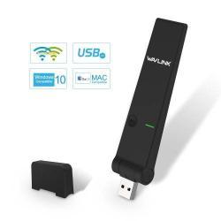 WAVLINK WL-WN688U3 USB WIFI ADAPTER - DUAL SÁVOS - 2.4G/5G Vezeték nélküli hálózati kártya, WPS 802.11ac/a/b/g/n