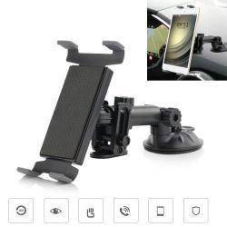 Autós / gépkocsi TABLET PC tartó - tapadókorongos, szélvédõre helyezhetõ - 155-210mm-ig állítható bölcsõ