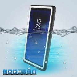 Vízhatlan / vízálló tok - 10m-ig és 24 óráig vízálló, por, kosz, hó ellen is véd! - FEHÉR - SAMSUNG SM-N950F Galaxy Note8