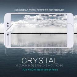 NILLKIN képernyővédő fólia - Crystal Clear - 1db, törlőkendővel - Xiaomi Redmi Note 5A Prime / Xiaomi Redmi Y1 - GYÁRI