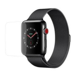 Előlap védő karcálló edzett üveg - 0.3mm 9H - APPLE Watch Series 3 38mm