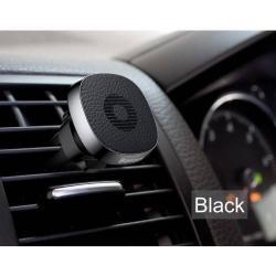 BASEUS Privity autós / gépkocsi tartó - mágneses, szellõzõrácsra rögzíthetõ - FEKETE - GYÁRI