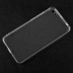 Műanyag védő tok / hátlap - ÁTLÁTSZÓ - szilikon szegély - Xiaomi Redmi Note 5A / Xiaomi Redmi Y1 Lite