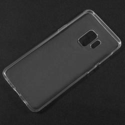Szilikon védõ tok / hátlap - ÁTLÁTSZÓ - SAMSUNG SM-G960 Galaxy S9
