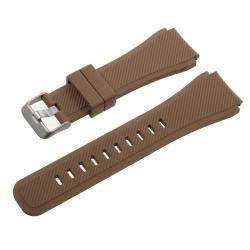 Pót szíj - szilikon - SAMSUNG Galaxy Watch 46mm / SAMSUNG Gear S3 Classic / SAMSUNG Gear S3 Frontier - BARNA