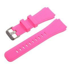 Pót szíj - szilikon - SAMSUNG Galaxy Watch 46mm / SAMSUNG Gear S3 Classic / SAMSUNG Gear S3 Frontier - MAGENTA