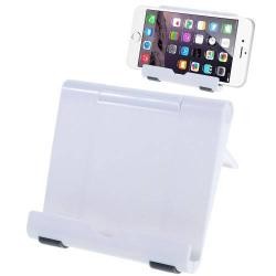 UNIVERZÁLIS asztali telefon tartó, állvány - FEHÉR
