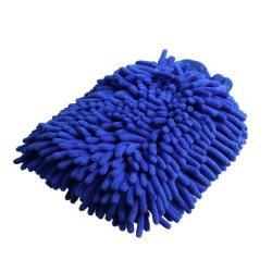 Autómosó tisztító mosóeszköz - KÉK - 23 x 8cm - Mikroszálas, plüss