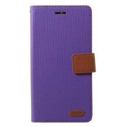 ROAR KOREA notesz / mappa tok - LILA - oldalra nyíló, rejtett mágneses záródás, belső zseb, asztali tartó funkció, szilikon belső - LG X Power 2 - GYÁRI