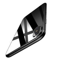 BASEUS hátlap védő karcálló edzett üveg - 0,33mm - APPLE iPhone X / APPLE iPhone XS - GYÁRI