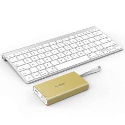 ORICO Type-C USB elosztó - 2 x USB 3.0, 1 x Type-C kimenet, 1 x RJ45 Ethernet, 1 x HDMI, 1 x VGA csatlakozók - ARANY