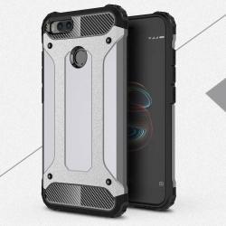 OTT! MAX DEFENDER műanyag védő tok / hátlap - SZÜRKE - szilikon belső, ERŐS VÉDELEM! - Xiaomi Mi 5X / Xiaomi Mi A1