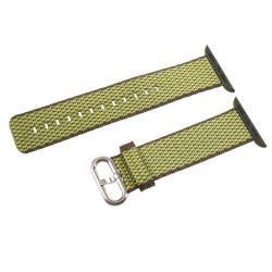 Okosóra szíj textil - ZÖLD- Apple Watch Series 1/2/3 - 42mm