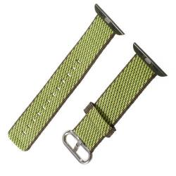 Okosóra szíj textil - ZÖLD- Apple Watch Series 1/2/3 - 38mm