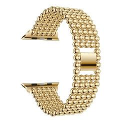 Fém okosóra szíj - ARANY - Apple Watch Series 1 / 2 / 3 - 42mm