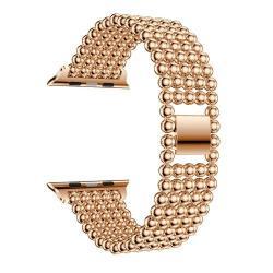Fém okosóra szíj - ROSE GOLD - Apple Watch Series 1 / 2 / 3 - 38mm