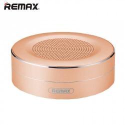 REMAX M13 hordozható bluetooth hangszóró - ARANY - v.4.0, 3,5 jack bemenet, microSD memóriakártyaolvasó, 500mAh akkumulátor - GYÁRI