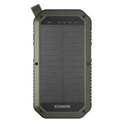 Vésztöltő töltő / hordozható töltő / uti töltő - ZÖLD - 8000 mAh LI-ION beépített akkuval, USB aljzattal, 2 x 5V/2A, 1x5V/1000mA kimenet