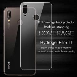 IMAK HD Hydrogel Protector hátlapvédő fólia - 1 db, 0,15 mm, A TELJES HÁTLAPOT VÉDI! - HUAWEI P20 lite (2018) / HUAWEI Nova 3e - GYÁRI